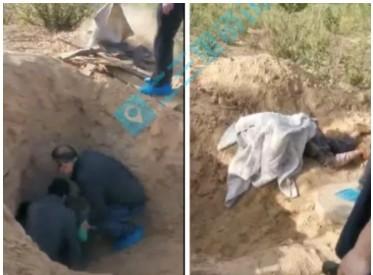 """陜西男子""""活埋""""79歲母親 涉嫌故意殺人罪被批捕"""