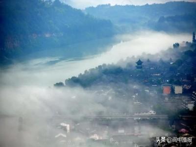 縱情山水相間的「古城仙苑」——閬中古城旅游