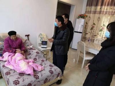 閬中市民政局到二龍鎮、妙高鎮開展三留守人員走訪慰問活動