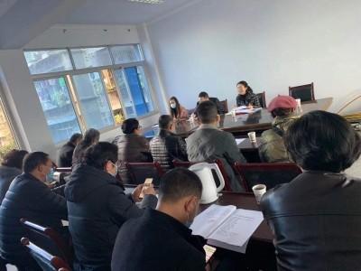 閬中市文聯近日召開2020年度工作座談會