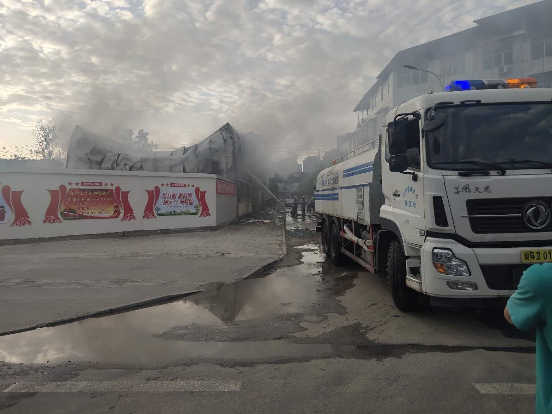 突发 | 阆中七里张公桥突发火灾,消防官兵已前往灭火