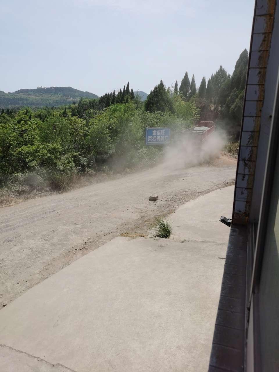 阆升路百货路段环境污染何时解决